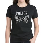 Police Tattoo Women's Dark T-Shirt