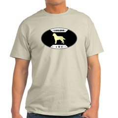 Metal Yellow Labrador Light T-Shirt