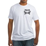 Police Tattoo Fitted T-Shirt