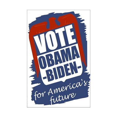 Obama-Biden for America's Future 11x17 Poster