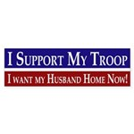 I Support My Troop (bumper sticker)