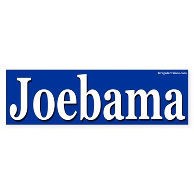Joebama bumper sticker
