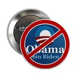 "No BO bin Biden 2.25"" Button"