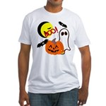 Halloween Friends Fitted T-Shirt