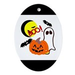Halloween Friends Ornament (Oval)