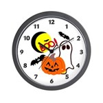 Halloween Friends Wall Clock