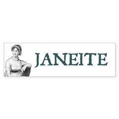 Janeite Bumper Sticker