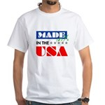 Made in the USA Patriotic Red Blue White Birthday