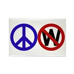 Peace Not Bush (10 magnets)