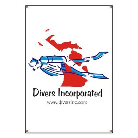 Divers Incorporated  Sports Banner by CafePress
