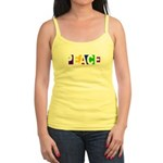 Peace Without Borders Spaghetti Tank