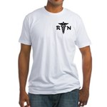 RN Symbol Fitted T-Shirt