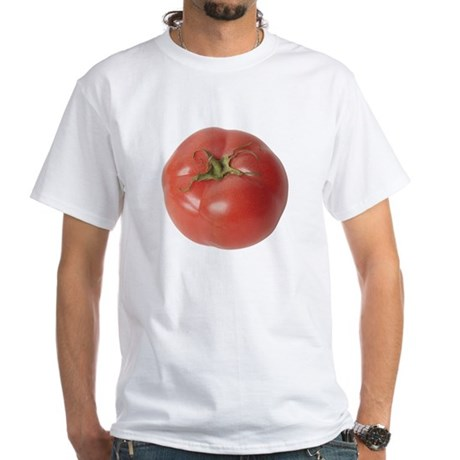 A Tomato On Your White T-Shirt