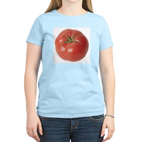A Tomato On Your Women's Pink T-Shirt