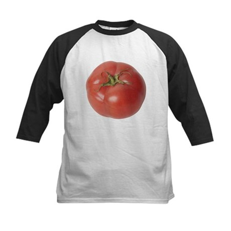 A Tomato On Your Kids Baseball Jersey