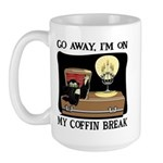 Coffin Break Large Mug
