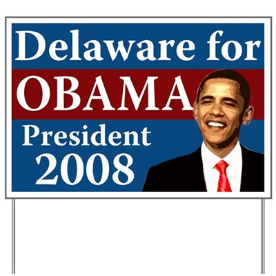 Delaware supports Barack Obama for President because Obama lives in the American present and sees the future, so he can take us beyond the failures of the past.