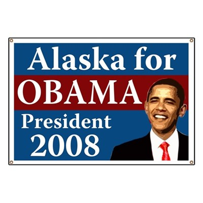 Alaska is the home state of Sarah Palin, and that's why Alaska is turning to vote Democrat this year. Alaska knows what a dirty politician Palin is. Alaska is for Obama 2008.