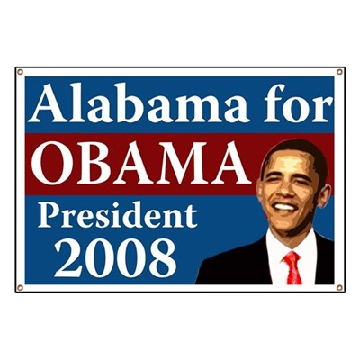 Alabama voters support Barack Obama for President because John McCain and Sarah Palin only offer the tired old excuses for failure from the past.