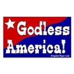 Godless America Bumper Sticker