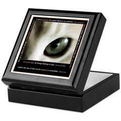 Mystery Cat's Eye Keepsake Box