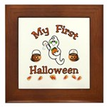 My First Halloween Framed Tile