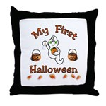 My First Halloween Throw Pillow