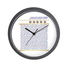 Magic Lucky Lottery Numbers Wall Clock