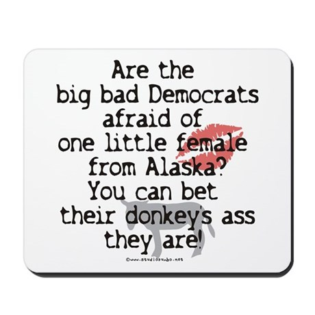Democrats and Palin Mousepad