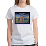 RAINBOW HOUSE - gone global Women's T-Shirt