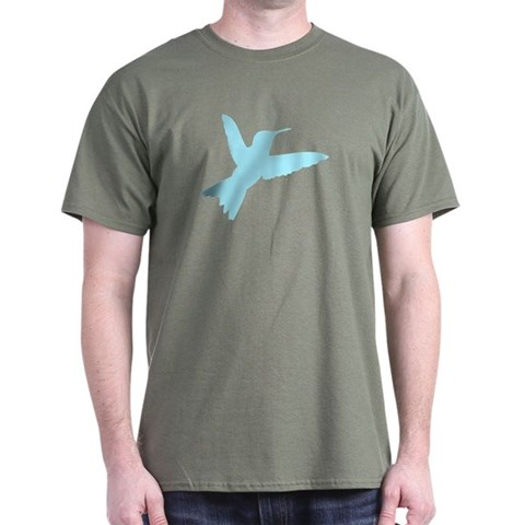 Hummingbird  Animals Dark T-Shirt by CafePress