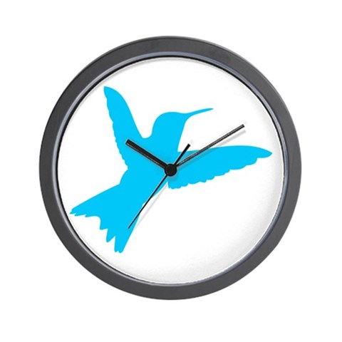 Hummingbird  Animals Wall Clock by CafePress