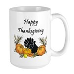 Happy Thanksgiving Large Mug