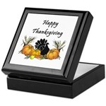 Happy Thanksgiving Keepsake Box