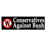 Conservatives Against Bush (Sticker)