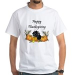 Happy Thanksgiving White T-Shirt