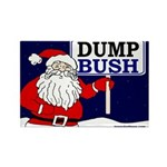 Santa Claus Says Dump Bush Magnet