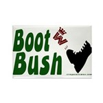 Boot Bush Rectangle Magnet