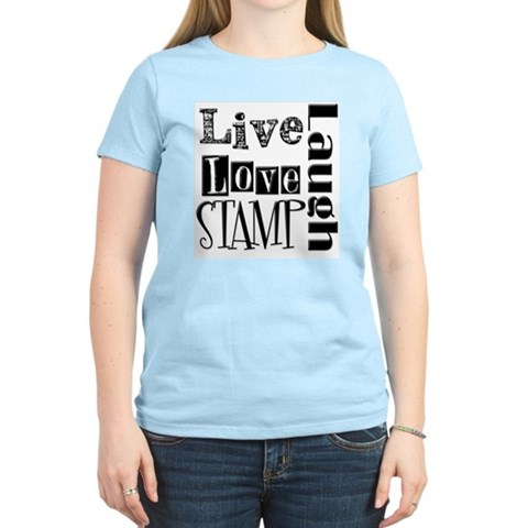 Live Love STAMP Hobbies Women's Light T-Shirt by CafePress