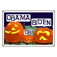 Pumpkin Patch Barack Obama Banner