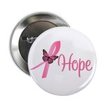 "Breast Cancer Hope 2.25"" Button (10 pack)"