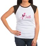 Breast Cancer Faith Women's Cap Sleeve T-Shirt