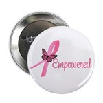 "Breast Cancer (Empowered) 2.25"" Button (10 pack)"