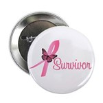 "Breast Cancer Survivor 2.25"" Button (10 pack)"