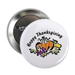 "Thanksgiving Day 2.25"" Button (100 pack)"