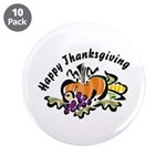 "Thanksgiving Day 3.5"" Button (10 pack)"