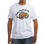 Thanksgiving Day Fitted T-Shirt