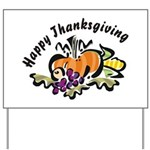 Thanksgiving Day Yard Sign