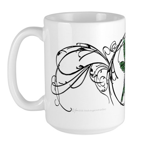 Gem Hummingbird  Animals Large Mug by CafePress