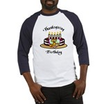 Thanksgiving Birthday Baseball Jersey